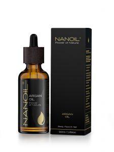 najlepszy olejek do włosów Nanoil arganowy